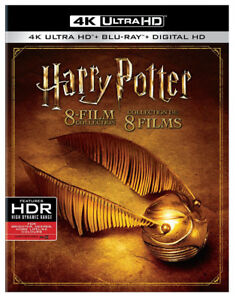 Harry Potter Collection 4K  NEW