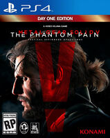 Metal Gear Solid V: The Phantom Pain - [PS4]