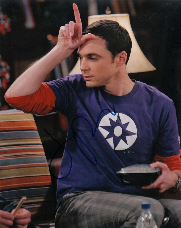 JIM PARSONS.. The Big Bang Theory's Charmer? - SIGNED