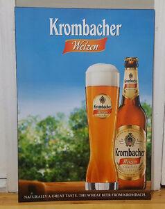 Cadre laminé bière Krombacher