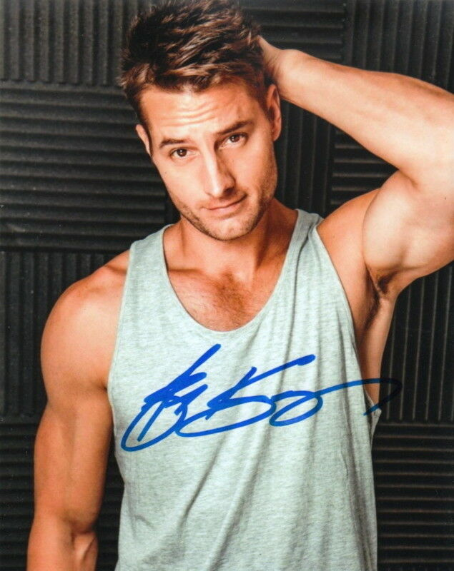 JUSTIN HARTLEY.. This Is Us' Sexy Stud - SIGNED
