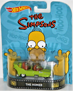 Hot Wheels Retro 1/64 The Simpsons The Homer Diecast Car