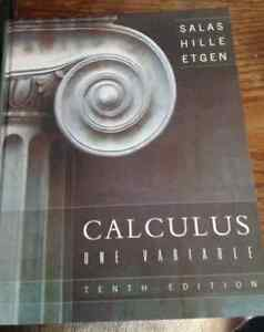 Calculus One Variable Text Book.