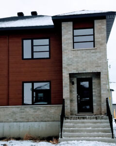 Need a  beautiful brand new 3 bedrooms house with basement now?