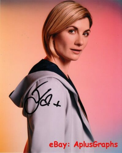 JODIE WHITTAKER.. Doctor Who's Alluring Actress - SIGNED