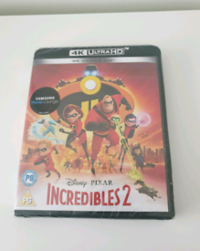 Incredibles 2 dvd 4K