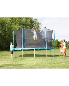 Big Trampoline, 12-ft w/ Safety net - Perfect Condition