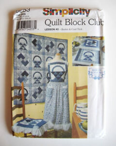 Simplicity Sewing Pattern 9253 for Quilt and Accessories