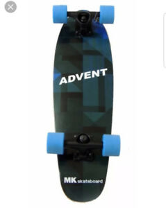 Advent skateboard
