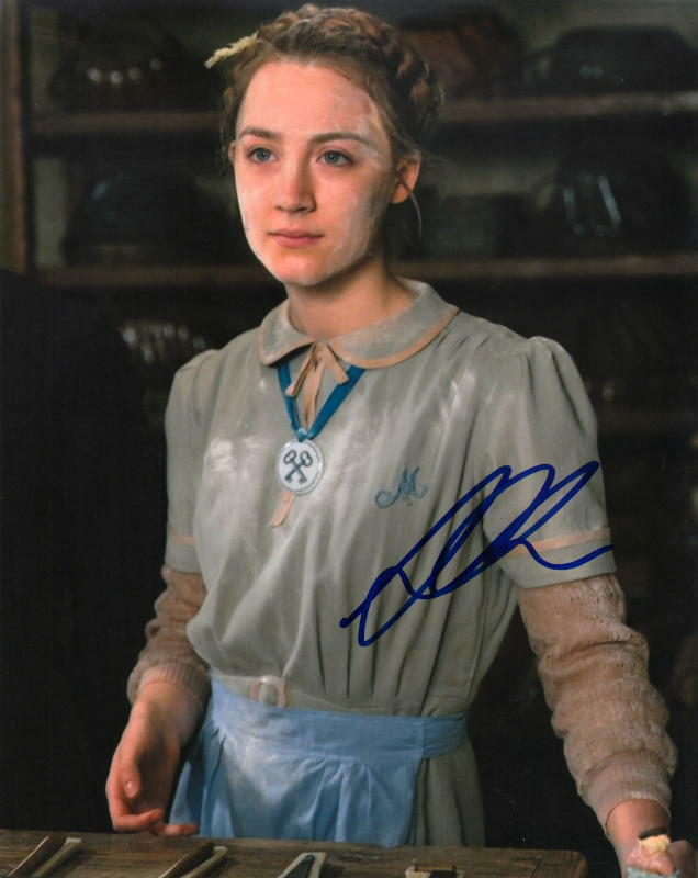 SAOIRSE RONAN.. The Grand Budapest Hotel - SIGNED