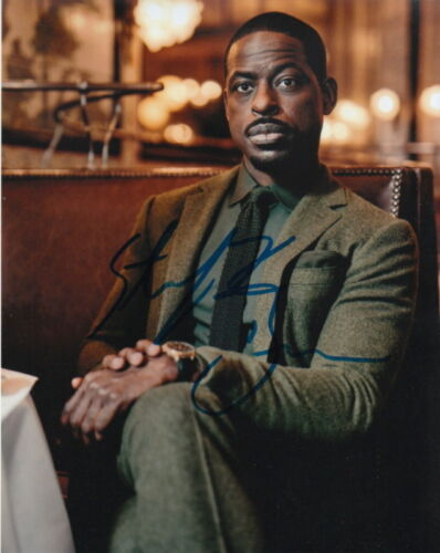 STERLING K. BROWN.. Emmy Award Winning Actor (This Is Us) SIGNED
