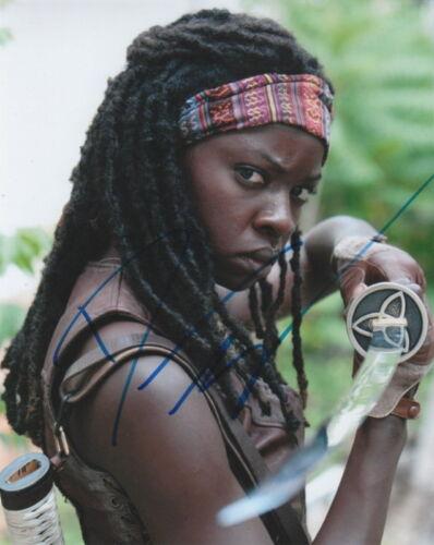 DANAI GURIRA.. The Walking Dead - SIGNED