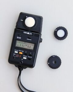 MINOLTA AUTO METER IIIF -  FLASH & AMBIENT LIGHT METER
