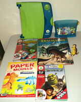 LeapPad Learning System, 2 Books with Cartridges, 2 Dinosaur Boo