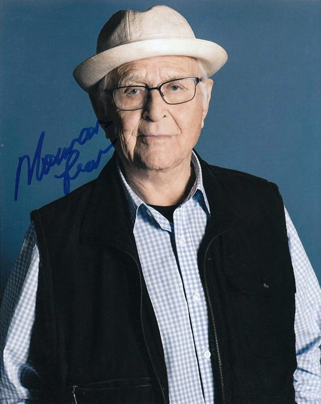 NORMAN LEAR.. Television Legend (All In The Family) SIGNED