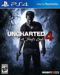 UNCHARTED 4 A Thief's End (like new)