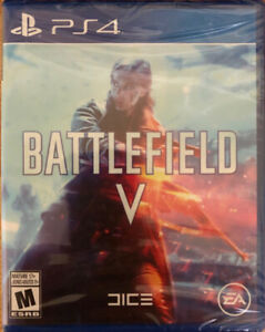 PS4 *Brand New* Battlefield V Game (Unopened)