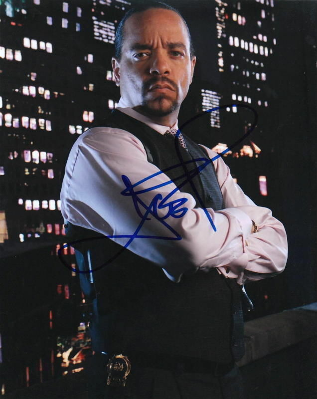 ICE T.. Law and Order: SVU - SIGNED