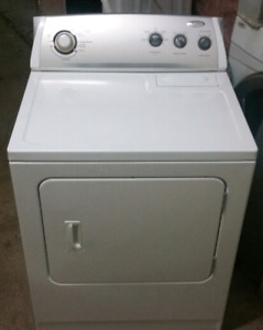 Whirlpool super capacity dryer works great