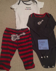 BABY clothes!!! Good Condition, No STAINS