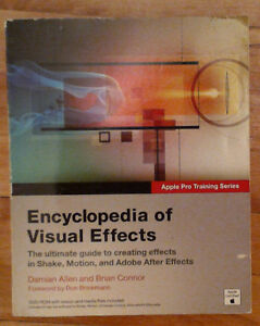 Encyclopedia of Visual Effects book w DVD rom