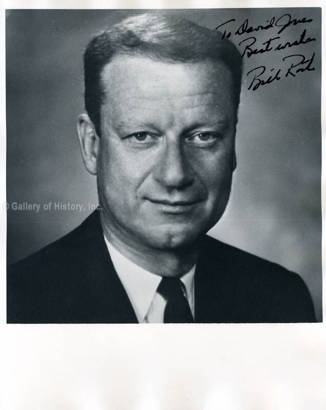 BILL ROTH - INSCRIBED PHOTOGRAPH SIGNED