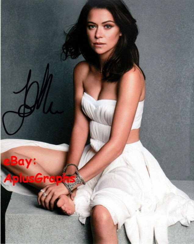Tatiana Maslany Autographs For Sale By Racc Trusted Sellers