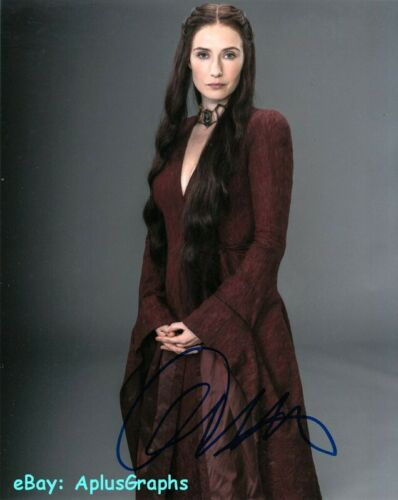 CARICE VAN HOUTEN.. Game Of Thrones - SIGNED