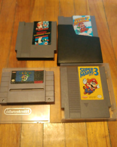 NES, SNES, Wii, Xbox systems and games