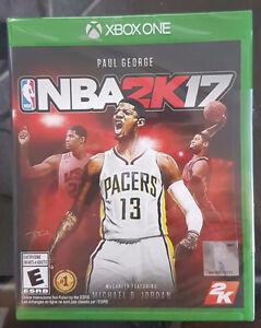 NBA 2K17 (SEALED) (Xbox One)