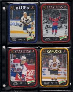 Action Hockey Patches