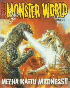 FAMOUS MONSTERS # 269 Monster World Godzilla Pre-owned Mechagodz
