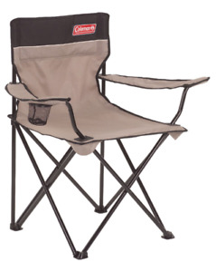 2x Coleman Extra-Large Camping Quad Chair