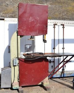 LARGE USED INDUSTRIAL BAND SAW