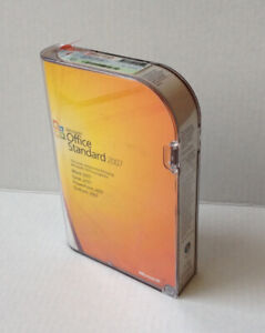 Microsoft Office Standard 2007 (with Disc & Key)
