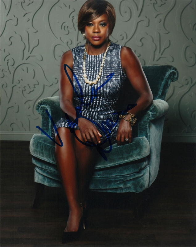 VIOLA DAVIS.. How To Get Away With Murder - SIGNED