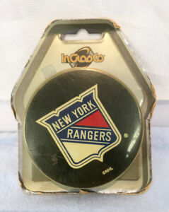 Vintage NHL New York Rangers hockey puck by InGlasCo gift