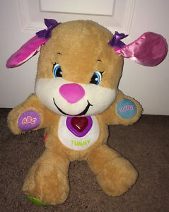 Fisher Price Laugh and Learn Smart Stages Sis Puppy Teaching