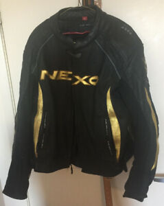 Large Leather motorcycle jacket