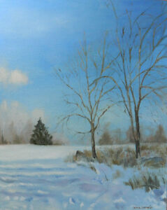 Original Oil Paintings Landscape Canadian Artist Gina Lemelin...