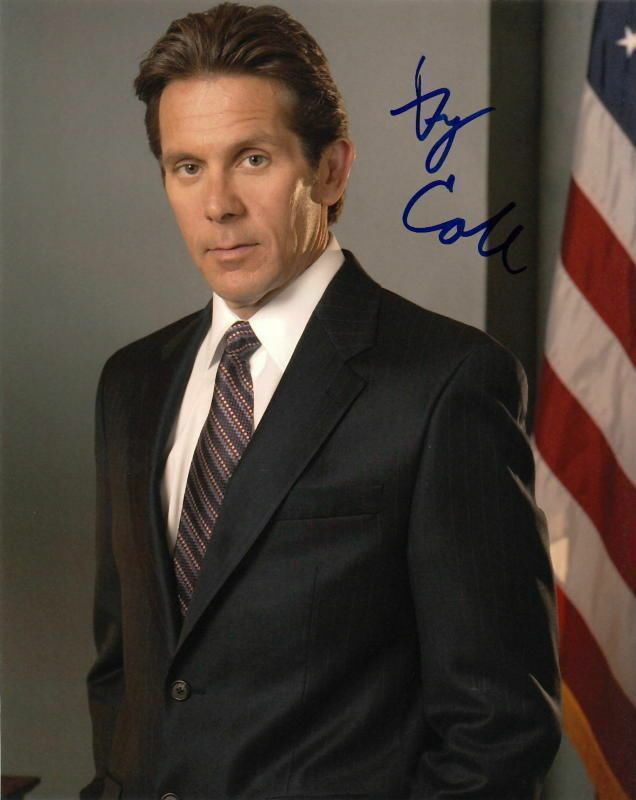 GARY COLE.. The West Wing's VP - SIGNED