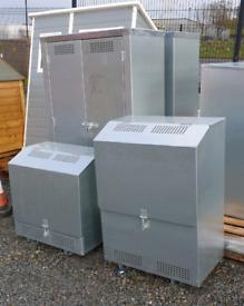 Galvanised gas cabinet storage boxes suitable for garage caravan
