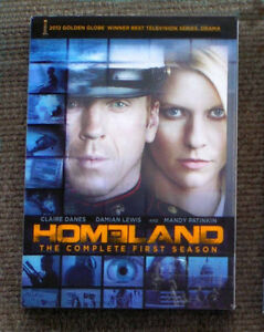 Homeland Season One DVD box set