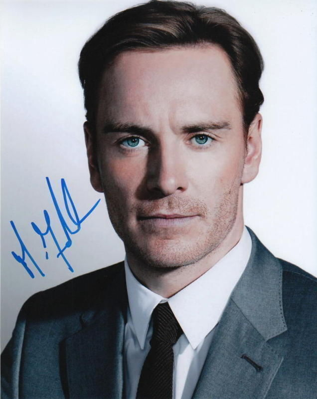 MICHAEL FASSBENDER.. X-Men: First Class' Erik Lehnsherr - SIGNED
