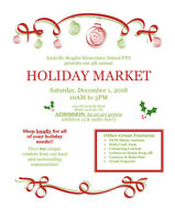 Sackville Heights Elementary Holiday Market