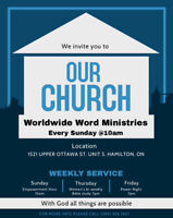 Looking for a home church ?