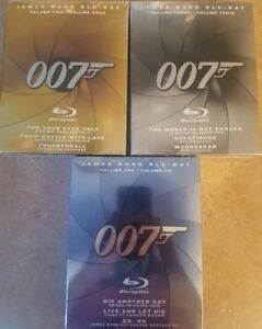 James Bond Blu-Ray Collection Volume 1-3