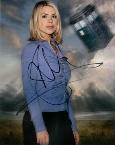BILLIE PIPER.. Doctor Who's Rose Tyler - SIGNED