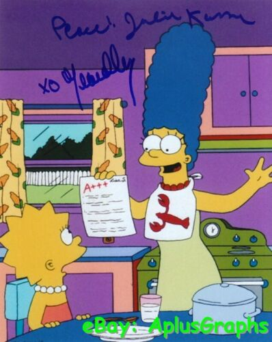 THE SIMPSONS.. Julie Kavner and Yeardley Smith - SIGNED
