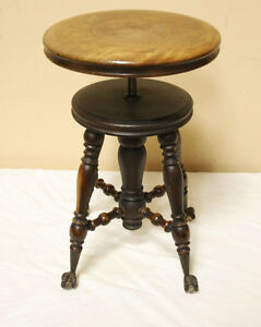 Super Nice Original Organ / Piano Stool SEE VIDEO